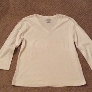 Chico's White Ultimate Tee - NEW LISTING